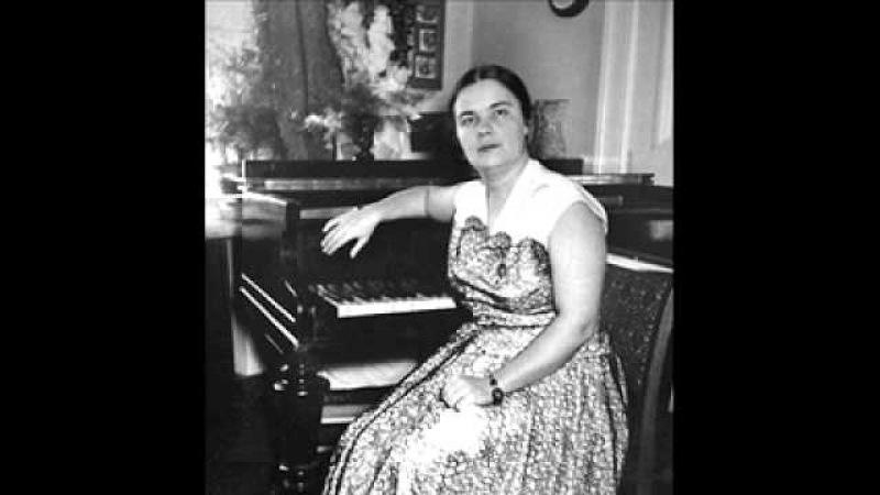 Tatiana Nikolayeva plays Bach Partita No.6 in E minor, BWV 830