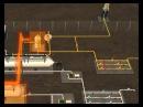 Схема установки предварительного сброса воды (УПСВ)