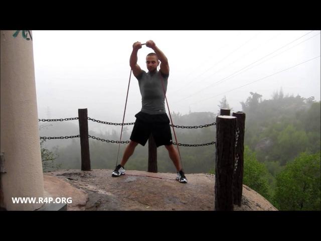 УПРАЖНЕНИЯ С РЕЗИНОВЫМИ ПЕТЛЯМИ ДЛЯ ВЕРХА ТЕЛА (the best upper body exercises with resistance bands)