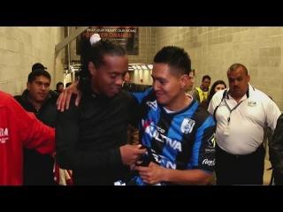 El fan número uno de Ronaldinho logró conocerlo