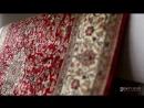 Укниальные индийские шелковые ковры Кашмир. Ручная работа, узелковая вязка.