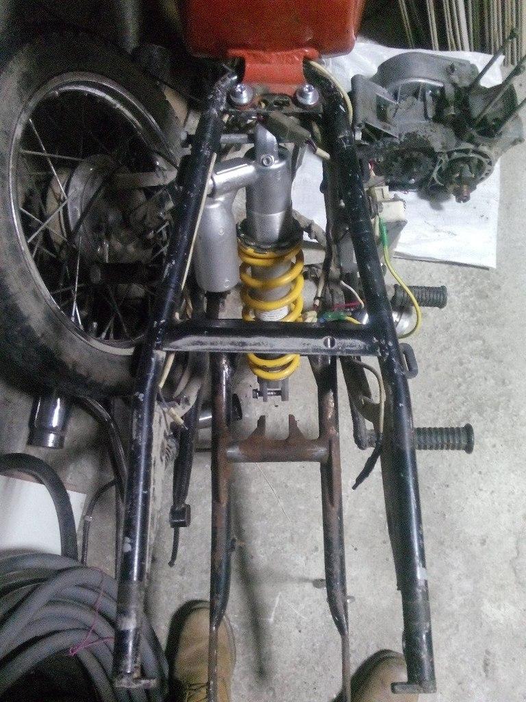 Подвеска мотоцикла своими руками 61