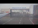 Як-40 СПб - Вологда  Yak-40 take off landing