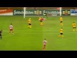 Carsten Kammlott (RW Erfurt) Scorpion Kick goal v Dynamo Dresden