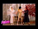 Poo with Pearl, Violet Chachki and Miss Fame - RuPaul's Drag Race Season 7 John Waters Rusical