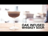 Oak-Infused Whiskey Sour Cocktail  ChefSteps