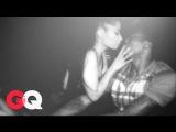 BTS: Ники Минаж и Мик Милл в фотосессии для журнала «GQ» (#1)