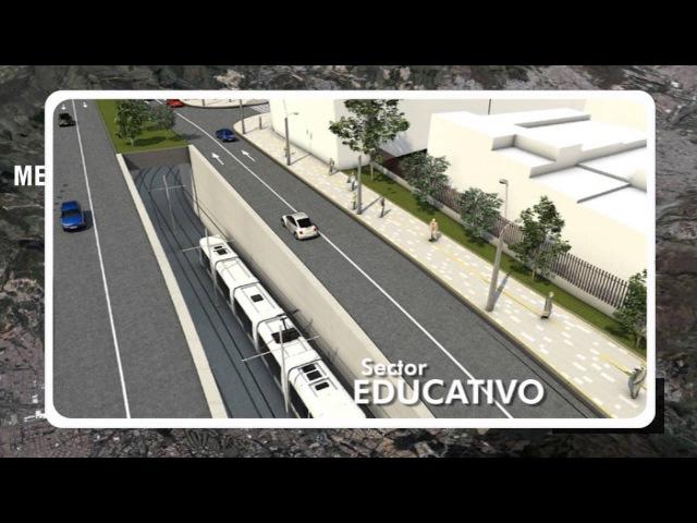 Tranvía de la 80 en Medellín