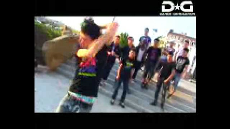 Tecktonik dance для рук!