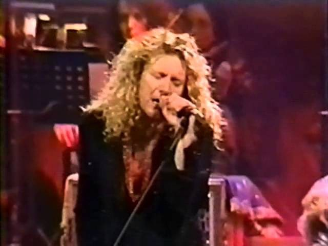 Jimmy Page Robert Plant Chicago 1995 Since I've Been Loving You BEST VERSION