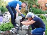 Изготавливаем садовую дорожку из природного камня