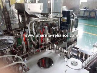 Pharmaceutcial eye drop/ diagnostic reagent fill finish monoblock machine