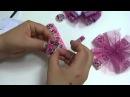 Como Hacer Moños sencillos Lazos y Flores Fáciles Listón Gros DIY Hair Clip