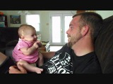 2 Month Old Baby Says I Love You - She really says it!