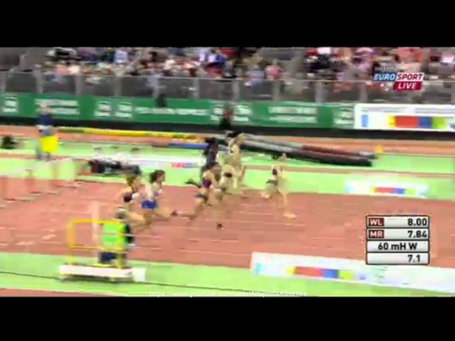 Düsseldorf Meeting 2015 - Alina Talay 7.96 - Women's 60 Metres Hurdles Final