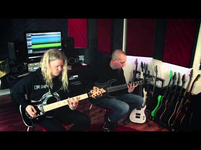 Conquering Dystopia - Autarch (Guitar Play-Through) Jeff Loomis, Keith Merrow