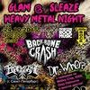 24.10 (сб) GLAM & SLEAZE   HEAVY METAL NIGHT 2