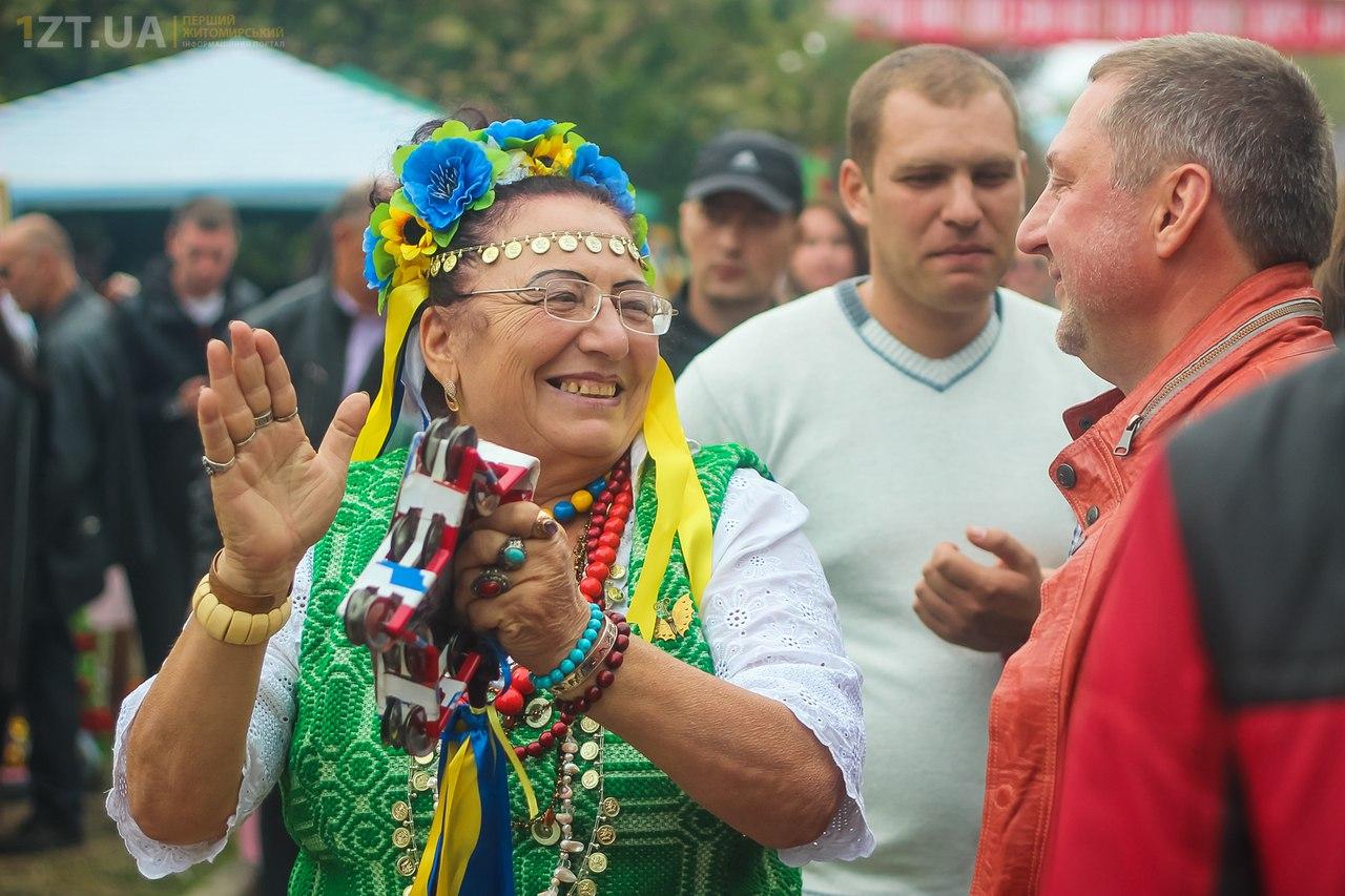 Коростень, фестиваль дерунов 2015