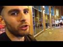 Ребята из Риги гуляют по ночному Манчестеру в Англии