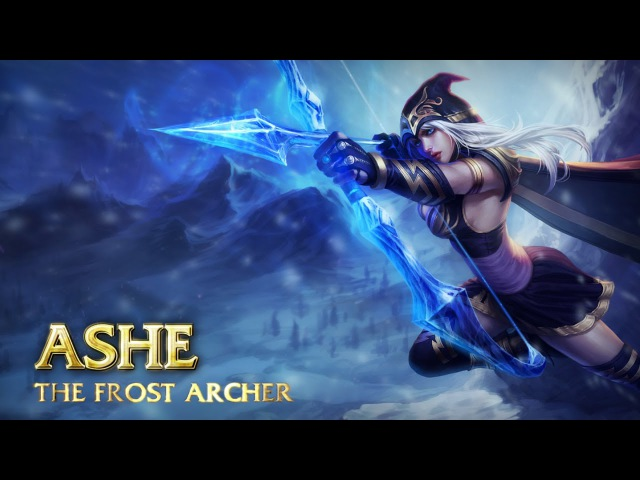 Ashe: Champion Spotlight | Gameplay - League of Legends