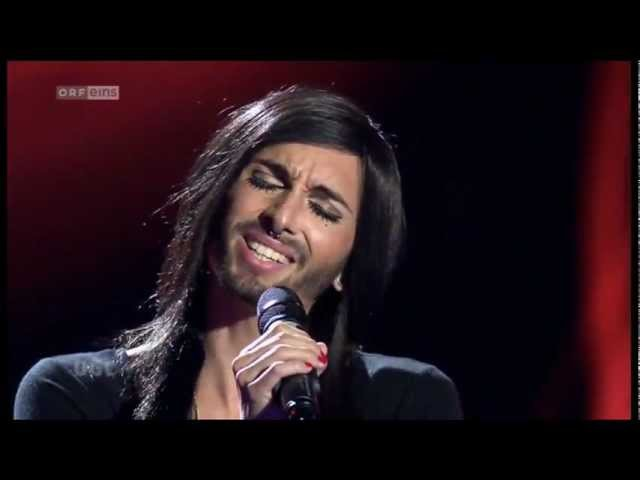 Conchita Wurst - My heart will go on - Colombia's Got Talent
