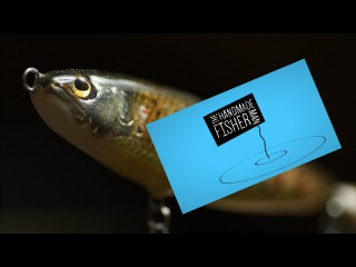 Making a Balsa Fishing Lure (the trouble with Trout Parr)