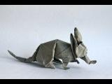 Origami aardvark by Quentin Trollip