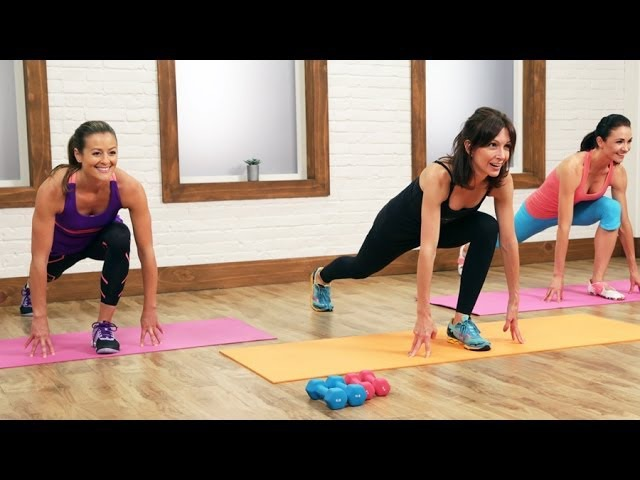 Lisa Corsello - The Ultimate 30-Minute Cardio Pilates Workout (Popsugar)   Аэробная тренировка для тонуса мышц