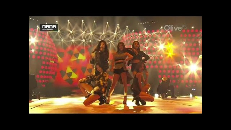 141203 Ailee 에일리 Girl's Day - Something 손대지마 (Don't Touch Me) Problem @ 2014 MAMA