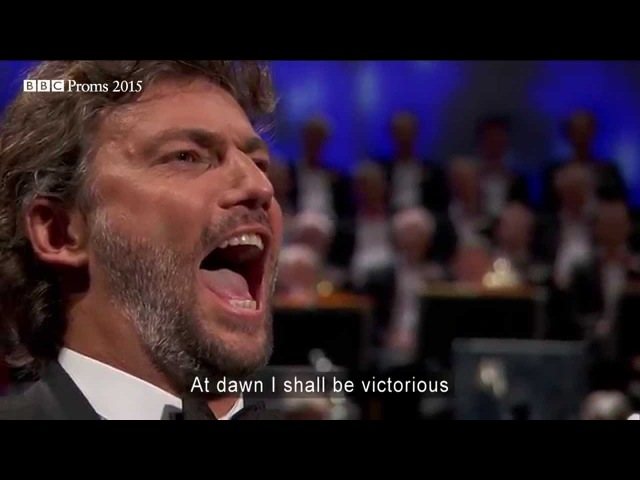 Puccini: Nessun Dorma from 'Turandot' - BBC Proms
