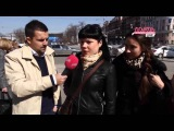 Юрий Гагарин, Герман Титов и Роман Романович на улицах Москвы