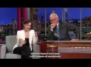 [rus sub] Emma Watson at Late Show with David Letterman [09/05/2012]