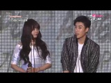150128 제4회 가온차트 K-POP 어워드 올해의 가수상 음원부문 7월 산이&레이나 20150108 @ 4th Gaon Music C