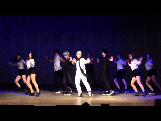 U-KISS - Intro Stop Girl cover by 7WoW (World IdolCon 281115)