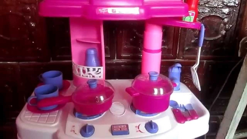 Видео обзоры детские игрушки 2015 - Кухня, посуда, плита, духовка (kidtoy.in.ua)