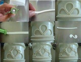 Как сделать корону из мастики на торт