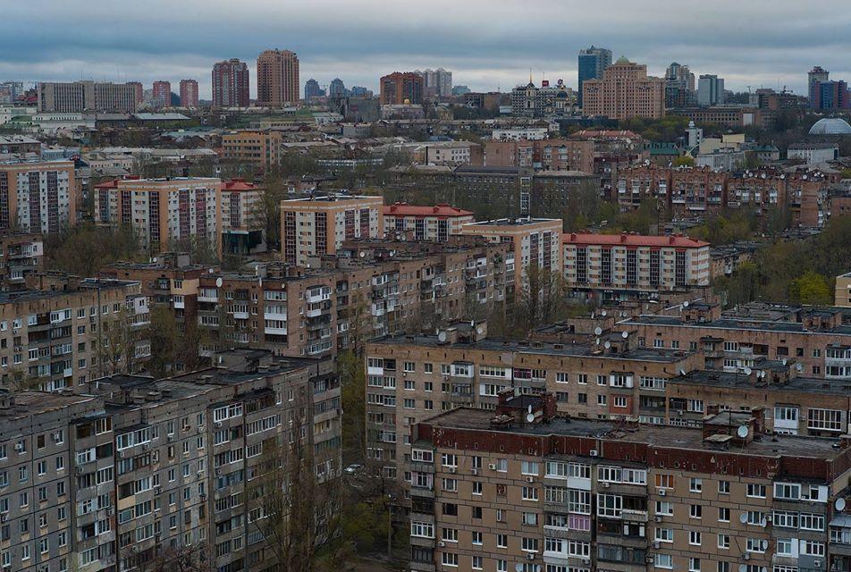 Многоэтажки Донецка