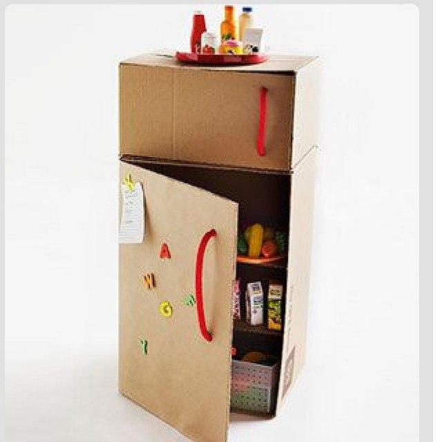 Как сделать холодильник для кукол своими руками барби
