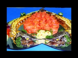 Рыбная нарезка на праздничный стол. Как красиво выложить рыбную нарезку