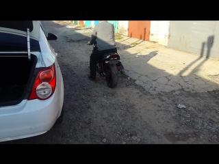 Suzuki gsf 250 bandit старт))
