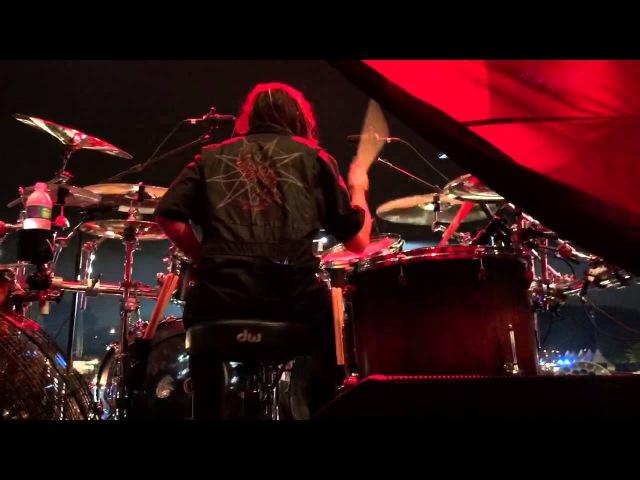 Slipknot DrumCam Jay Weinberg @São Paulo - BRASIL