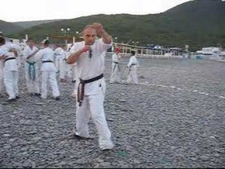 Плеханов Сергей - боец киокушина. Plekhanov Sergey - kyokushin fighter.