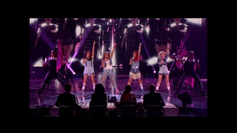 Little Mix head back home - The X Factor 2011 Live Final (Full Version)