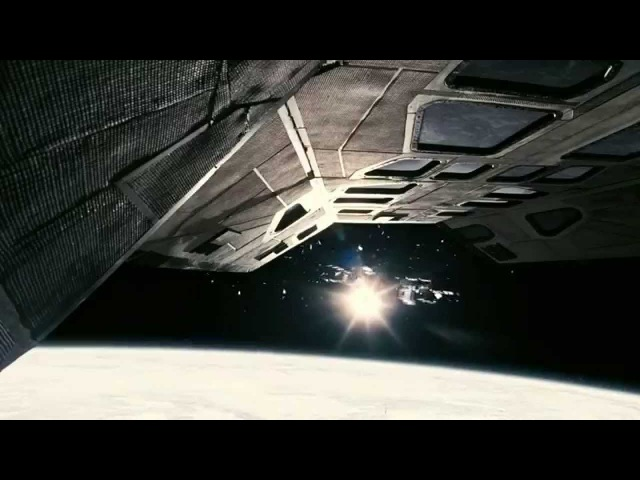 Oscar Movie Interstellar (2014) Docking Full Scene [No Time for Caution] [HD]