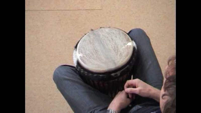 Djembe rhythms and grooves part 1 - Kuku, Kono, Yankady, Rumba etc