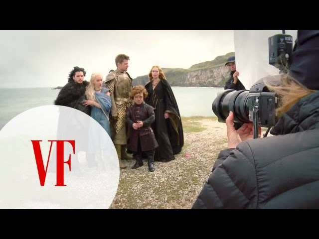 Behind the Scenes of Our Cover Shoot with the Cast of Game of Thrones-April 2014 Cover-Vanity Fair
