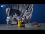Химические опыты. Змея из песка