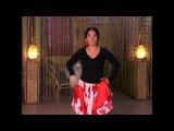 Уроки цыганского танца от Венеры Ферарь №2 (gipsy dance lesson)