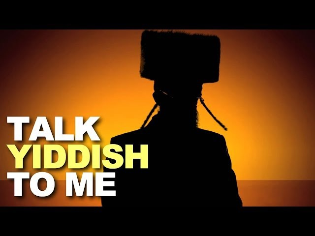 Talk Yiddish To Me (Nisht-Dirty Parody)
