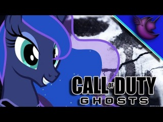 Princess Luna Plays COD Ghosts - Gaming With The Ponies